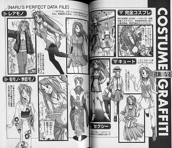 Love Hina 0 (zero), Art and Data Book, with Stickers, Manga by Akamatsu