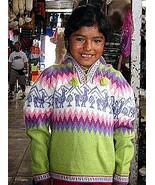 Sweater,V-neck,Jumper, Alpaca Wool,peruvian design - $47.00