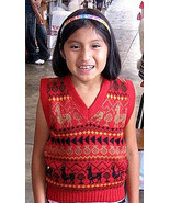 Slipover for kids, the sweater is made with Alpaca wool - $35.00