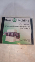 Besi Molding Fico AMS-F Product change over manual CD VQFN-40Ld infineon - $47.00