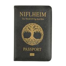 Niflheim Home World Mist Passport Cover Norse Mythology Travel Pass Cove... - £9.59 GBP