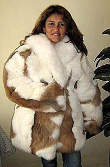 Fur jacket,made of babyalpaca fur,outerwear