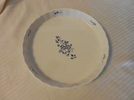 Fyrklovern Pie Plate Firkloveren Apilanlehti Classic Quiche Tart Blue White - $24.25