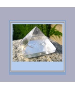 Genuine Clear Quartz Crystal Pyramid  1.42 inches Square  - $44.95
