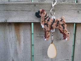 Boxer with natural ears crate tag or hang anywh... - $19.00