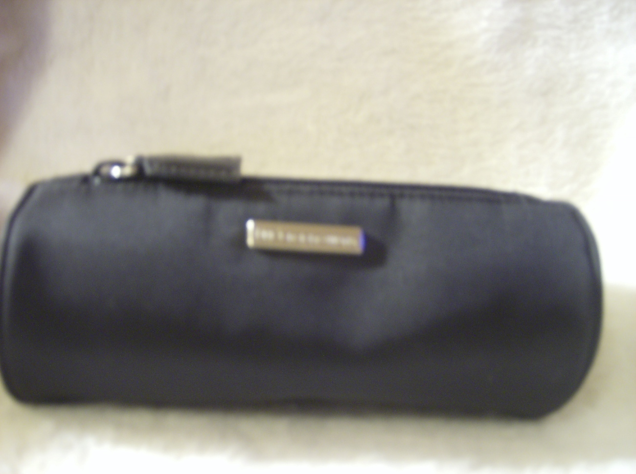 DG  DOLCE GABBANA Black Cylinder shaped bag