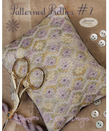 Patterned Pretties 7 Pyn Pillow Kit cross stitc... - $10.80