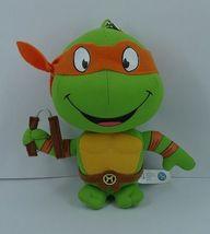 Teenage Mutant Ninja Turtles: Michelangelo 6'' Plush Key Chain NEW! - $18.99
