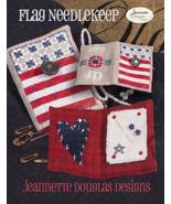 Flag Needlekeep Kit patriotic cross stitch kit ... - $34.20