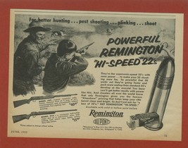 1955 Remington Rifle Model 550 and Model 514 Shown ~ Father & Son Hunt R... - $8.66