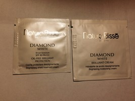 NATURA BISSE Diamond White Brilliant Cream 4ml and SPF 50 PA+++ 2ml - $14.99