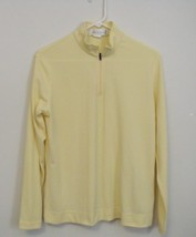 Womens I L Migliore NWOT Yellow Long Sleeve Top Size Large - $14.95