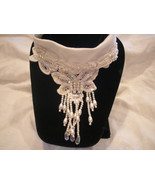 1 Handcrafted Necklace Choker with pearls & sequins NEW - $18.00