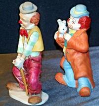 Clown Figurines (Pair ) AA-192054 Vintage image 2