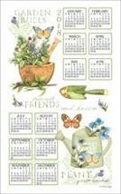 KayDee Designs 2019 Linen Calendar Kitchen Towel Wildflowers - $13.21