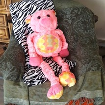 Dirty Pink Pig TUG OF WAR plush Stuffed Animal toy kids room - $45.00