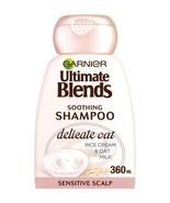 Garnier Ultimate Blends Oat Milk Sensitive Scalp Shampoo 360ml - $12.62