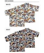 SUN SURF Hokusai SPECIAL EDITION Short sleeve aloha shirt hawaiian - $349.99