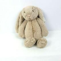 "JellyCat Plush Rabbit 12"" Floppy Bashful Bunny Beige Stuffed Animal  - $38.61"