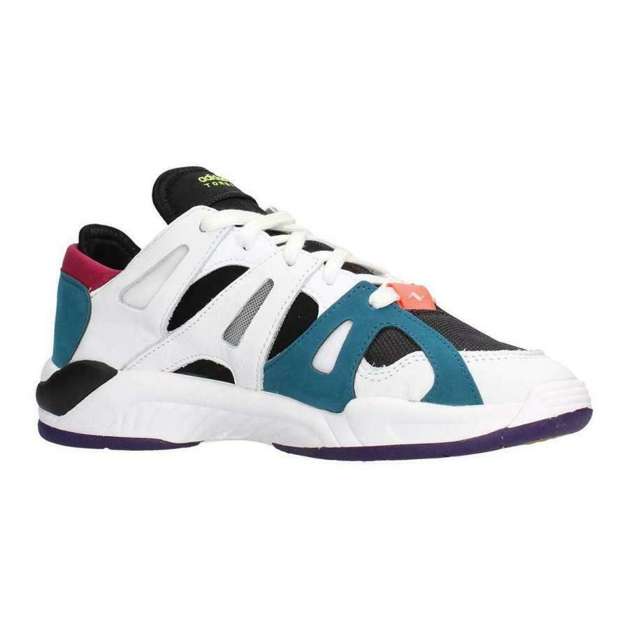 Adidas Dimension Low White/Core Black/Real Teal F34418 Mens Size 10  image 3