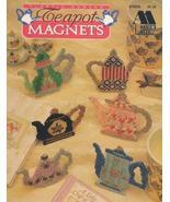 Plastic Canvas Teapot Magnets (Annie's Attic 878905) [Pamphlet] - $22.85