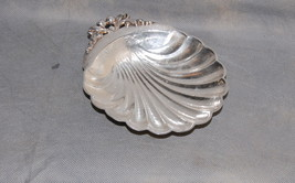 Norse Craft Silver Plate Hammered Texture Shell Bowl - $45.00