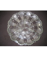 Vintage clear 3 section relish dish - $10.00