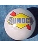 Sunoco Oil Gasoline Gas Station Logo Glass Marb... - $7.50