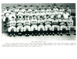 1955 NEW YORK GIANTS 8X10 TEAM PHOTO BASEBALL PICTURE NY MLB - $3.95
