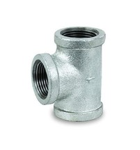 High Pressure Galvanized Malleable Tee Fitting With Female Threaded 1/4 - $4.77