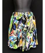 Jams World Sz Small Womens Rayon Beach Short Skirt Candy Pop Tiered W892  - $45.60