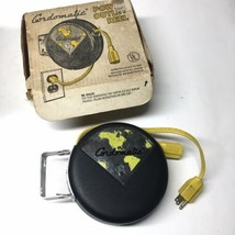 Vintage NOS CORDOMATIC POWER OUTLET Reel 20 Foot Retractable Extension Cord - $59.39