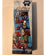Board Game Puzzle Marvel Avengers Assemble 50 Piece Tower - $4.95