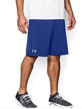 """Under Armour UA Men's 10"""" Raid Shorts Size Large (L) Royal / Steel"""