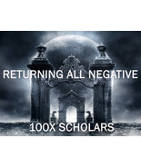 100X 7 SCHOLARS RETURNING ALL NEGATIVE TO SENDER RICOCHET EXTREME MASTER MAGICK  - $49.89