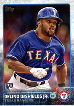 2015 Topps Update #US144 Delino DeShields Jr. Texas Rangers Rookie Card - $1.25