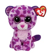 Ty Beanie Boos Glamour Leopard Plush, Pink - $15.45