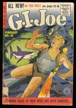 G.I. JOE #43 ZIFF DAVIS 1956 SHARK COVER WAR ISSUE G/VG - $43.46