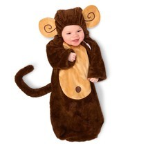 Loveable Monkey Infant Bunting 0-6M - ₨1,091.58 INR
