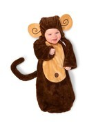 Loveable Monkey Infant Bunting 0-6M - £11.81 GBP