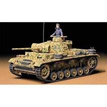 Tamiya Models Pzkpfw III Ausf L Tank Model Kit - $53.06
