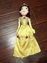 "Disney Beauty and The Beast Disney Princess Belle 17"" Plush Stuffed Doll - $20.23"