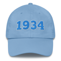 Lions hat / 1934 hat / gift hat / lions Cotton Cap image 1
