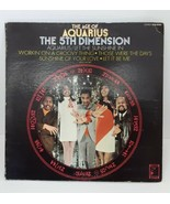 The Age of Aquarius 5th Dimension SCS-92005 Vtg 60s Record Album 1969 Groovy LP - $19.79