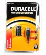 Duracell Mini USB Car Charger for LG Phones NEW - $14.29