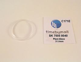 New Watch Crystal For SEIKO 7005 8040 Automatic Plexi-Glass New Spare Pa... - $18.47