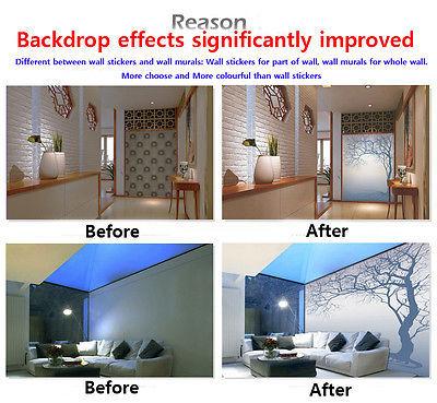 3D Bright Moon Sky 8 Ceiling WallPaper Murals Wall Print Decal Deco AJ WALLPAPER