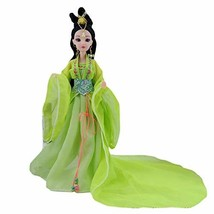 PANDA SUPERSTORE China Ancient Ball-Jointed Doll Green Fairy Chinese Style 12-Jo image 2