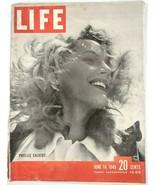 LIFE Magazine VTG June 14 1948 Phyllis Calvert Nixon Times Square NW Flo... - $26.61
