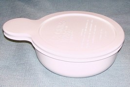 CORNING WARE PYREX WHITE GRAB IT Bowl P-150-B with Plastic Lid P-150-CPC... - $9.95